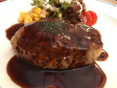 ハンバーグ (96neko) Tags: snapdish iphone 7 food recipe tokyo東京都