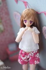 Hello Summer! (Melu Dolls) Tags: melu meludoll meludolls obitsu dollymoe custom