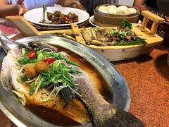 Dinner in Taiwan (cattan2011) Tags: 日月潭 台湾 dinner traveltuesday travelphotography travelbloggers travel taiwancuisine restaurant dished culture meal foodie foods