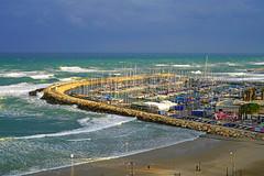 Tel Aviv Marina, Israel (Andrey Sulitskiy) Tags: israel telaviv