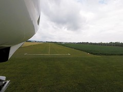 Short of threshold runway 28 @ Seitenstetten (LOLT) (stecker.rene) Tags: approach landing schwelle runway gras grass rwy rwy28 seitenstetten aerodrome hangar tower airfield niederösterreich loweraustria austria österreich on final touchdown short threshold katana dv20 vfr flight landings field gopro hero5 session landebahn flugplatz