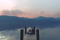 (Laura Marchini) Tags: chill outdoors summer summervibes sky sunset sunsetlovers grill lake varese mountain landscape landscapephotography land nikon nikonitalia nikond750 soft vision