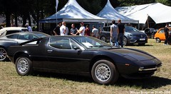 Maserati Merak 1973 (XBXG) Tags: maserati merak 1973 maseratimerak v6 ital design giugiaro noir black concours délégance 2018 paleis het loo apeldoorn nederland holland netherlands paysbas coupé coupe 22 vintage old classic italian sportscar sports car auto automobile voiture ancienne italienne italie italia italy vehicle outdoor