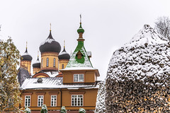 convent-10.jpg (paulslinger01) Tags: idaviru estonia convent winter church pühtitsaconvent ~what ~concept dome snow religion timber easterneurope outside eesti stacked wood firewood outdoors garden jõhvi baltic spire stacking