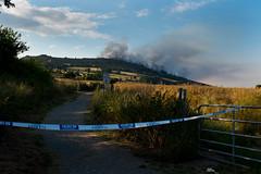 Bray Head Fire July 2017 (shaymurphy) Tags: fire summer breay head greystones long exposure smoke sea ireland