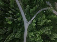(Dbennison) Tags: fernie britishcolumbia canada ca drone dji summer 2018 trees warm land cruiser landcruiser home aerial