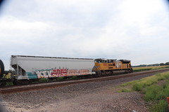 58241 (richiekennedy56) Tags: unionpacific sd70ace up8985 jeffersoncountyks kansas perry railphotos unitedstates usa