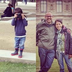 My favorite photographer (Mister Blur) Tags: young photographer portrait couple nikon d7100 50mm iphone 4s iphoneography musée louvre jardin tuileries paris france happiness stateofbliss dyptich