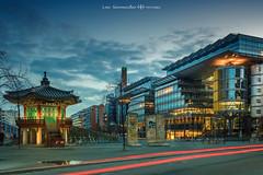 _DSC8891-1 (oolcgoo) Tags: cityscape berlin potsdamer platz sony zeiss roger twins korea germany clouds blue hour