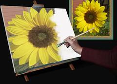 Artist at Work (ClaraDon) Tags: photoshop manipulation fantasy mmmchallenge naturethroughthelens