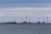 Wind Power and Supply Vessels (Craig Hannah) Tags: aberdeen aberdeenshire windturbine supplyvessel vessel boat ship scotland uk northsea sea sky june 2018 craighannah photography photos photographs canon windpower spring