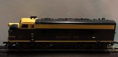 HO Scale Mantua Santa Fe F9 Locomotive (atjoe1972) Tags: train mantua model railroad ho scale santafe f9 locomotive 187 layout diorama sixties 1960s vintage atjoe1972 tyco toy