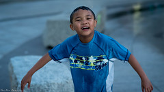 The Rings Fountain Fun Time (kuntheaprum) Tags: ringsfountain downtownboston waterfountain cityscape children nikon d750 samyang 85mm f14