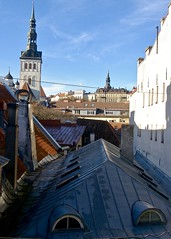 Rooftops (phthaloblu) Tags: tallin estonia oldetown rooftops