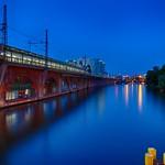 Berlin - Spree River @Blue Hour - HDR thumbnail