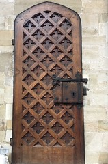 Door in Exeter Cathedral