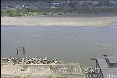 信濃川小千谷水位ライブカメラ画像. 2018/06/22 11:22 (River LiveCamera) Tags: id2790 rivercode8404030001 ym201806 信濃川 小千谷水位 ymd20180622