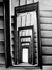 7th Hell Portal (Orbmiser) Tags: olympus40150mmf4056r 43rds em1 mirrorless omd olympus ore oregon portland building bw stairwell steps architectural architecture