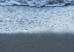Beach Abstract (Grazerin/Dorli Burge) Tags: wave surf water bubble sand hightide ocean pacificocean pointmugustatebeach pointmugu abstract elements