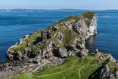 Ballycastle   |   Kinbane Castle (JB_1984) Tags: kinbanecastle castle ruins kinbanehead headland rock landscape scenery sea atlanticocean ballycastle causewaycoastglensdistrict countyantrim northernireland uk unitedkingdom nikon d500 nikond500