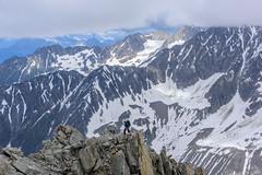 Les Grands Montets in Chamonix, France (ttchao) Tags: nikon d810 2470mm grandsmontets chamonix frnace alps rockclimbing