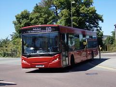 Redline ADL Enviro 300 KH55 KMH (Alex S. Transport Photography) Tags: bus outdoor road vehicle adlenviro300 enviro300 e300 redline route110 kh55kmh