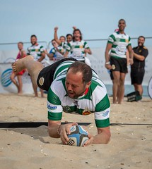 Happy Try (Chris Willis 10) Tags: beachrugby sport men outdoors competition athlete competitivesport people muscularbuild exercising sportsrace running action sportsclothing healthylifestyle jogging adult strength challenge sportstraining effort happy try