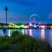 Samen fotograferen is leuker: blue hour Rhenen Cuneratoren