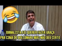 """Jornalista foi querer fazer graça pra cima do Bolsonaro mas não deu certo Bolsonaro VS Fake News """" (portalminas) Tags: jornalista foi querer fazer graça pra cima do bolsonaro mas não deu certo vs fake news"""