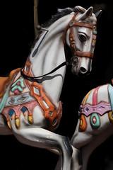 Climb aboard (Leaning Ladder) Tags: tirana albania horse merrygoround carousel colors leaningladder canon 7dmkii