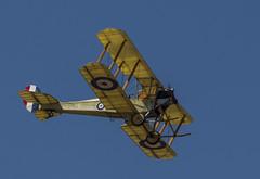 Royal Aircraft Factory BE2c (Hawkeye2011) Tags: aircraft aviation airshow riat raffairford uk 2018 military biplane be2c rfc