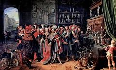IMG_4003C Frans Francken II. 1581-1642. Anvers.   Crésus montrant ses trésors à Solon.  Croesus showing his treasures to Solon.  Avignon Musée Calvet. (jean louis mazieres) Tags: peintres peintures painting musée museum museo france avignon muséecalvet fransfranckenii