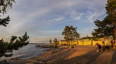 RAUHANIEMI 6 pystykuvaa (harri.hedman) Tags: rauhaniemi tampere g1x harrihedman eveningsun bath beach sunset auringonlasku
