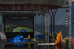 Transmissão do jogo da seleção na Ponta Negra