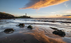 (Ian McClure) Tags: ayrshire turnberry lighthouse pentax sunset