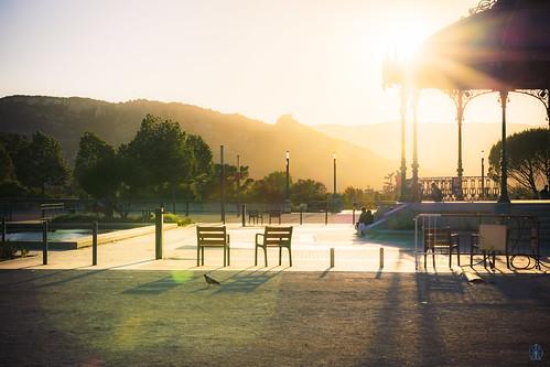 Valence Sunset - HDR