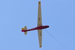 G-CJOB (JOB) (QSY on-route) Tags: gcjob job vintage glider week 2018 camphill great hucklow 26062018