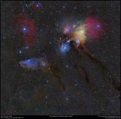 Rho Orphiuchi & The Blue horse Nebulae (Terry Hancock www.downunderobservatory.com) Tags: space sky qhy qhy367c astronomy astrophotography astroimaging cosmos