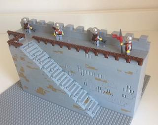 WIP - Castle Wall