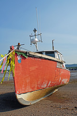 DSC00653 - Miss Ruby II (archer10 (Dennis) 141M Views) Tags: sony a6300 ilce6300 18200mm 1650mm mirrorless free freepicture archer10 dennis jarvis dennisgjarvis dennisjarvis iamcanadian novascotia canada glooscaptrail fundy parrsboro harbour missrubyii fishing boat mermaid red beach