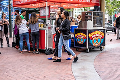 San Francisco 2018 (burnt dirt) Tags: sanfrancisco california vacation town city street road sidewalk crossing streetcar cablecar tree building store restaurant people person girl woman man couple group lovers friends family holdinghands candid documentary streetphotography turnaround portrait fujifilm xt1 color laugh smile young old asian latina white european europe korean chinese thai dress skirt denim shorts boots heels leather tights leggings yogapants shorthair longhair cellphone glasses sunglasses blonde brunette redhead tattoo pretty beautiful selfie fashion japanese food blue hole close