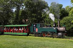 """Riva ""104 at Omaha Zoo (jterry618) Tags: omahazoorailroad henrydoorlyzoo omaha nebraska steamlocomotive steamengine narrowgauge steamtrain"