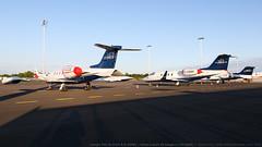 Learjet 35A (D-CCCA & D-CDIM) + Gates Learjet 55 Longhorn (D-CGBR) (Boran Pivcic) Tags: learjet learjet55 learjet35 gateslearjet longhorn jetexecutive dccca dcgbr dcdim munchenairport muc