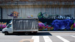 IMGP5422 Eating the truck ! (Claudio e Lucia Images around the world) Tags: street art via pontano padova viale monza milano murales graffiti ferrovia milanese pentax pentaxk3ii sigma sigma1020 pittura face faccia murale persone muro ritratto