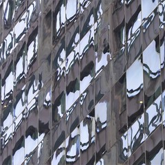 Chicago, Skyscraper Fragmented Reflection (Mary Warren 11.2+ Million Views) Tags: chicago urban architecture building skyscraper glass windows reflection abstract lines diagonals