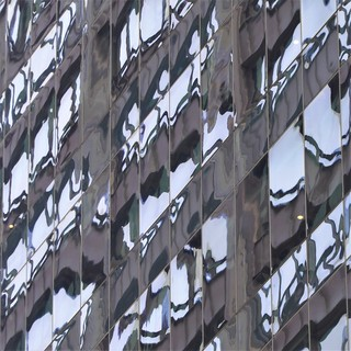 Chicago, Skyscraper Fragmented Reflection