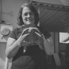 Duaflex Bubbletop 1 (thesnapshotinitiative) Tags: duaflex bubbletop kodak flash 620 120 six20 dog desert tortoise fomapan caffenol trex