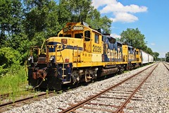 New RR in town. EWR @ Monon, IN (Jesse Berryhill) Tags: evr elkhart western rr ra monticello branch