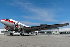 DDA_DC-3_PH-PBA_20180715_LBC-05 (Dirk Grothe   Aviation Photography) Tags: classic dutch dakota dc3 phpba lbc lübeck dda