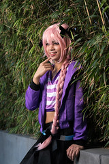 Tee-Hee (asiantango) Tags: animeconvention animeexpo california celebrationevent centralcity cosplayseries fateseries item jwhotel jwhotelpool losangelescounty object out outdoor outdoors outside outsides sunny weather